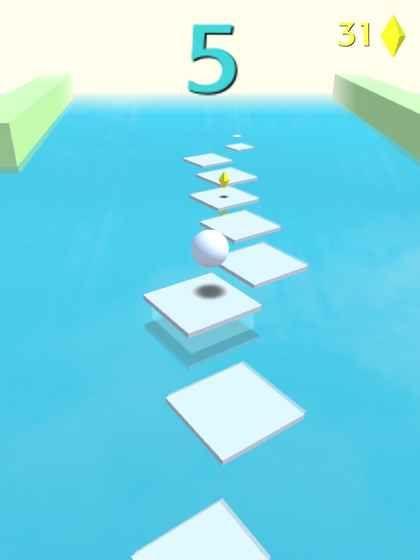 抖音小球跳一跳手机游戏最新版(Jump Forever)图6:
