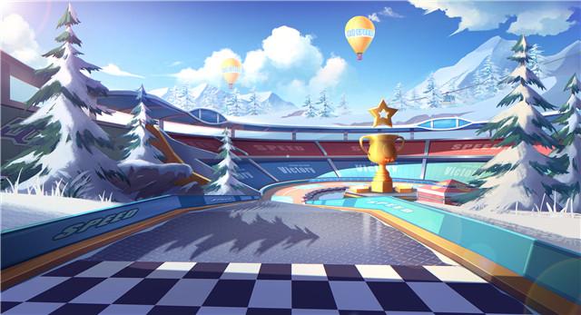 QQ飞车手游雪地大冒险赛道难点解析 雪地大冒险赛道该怎么跑?[多图]