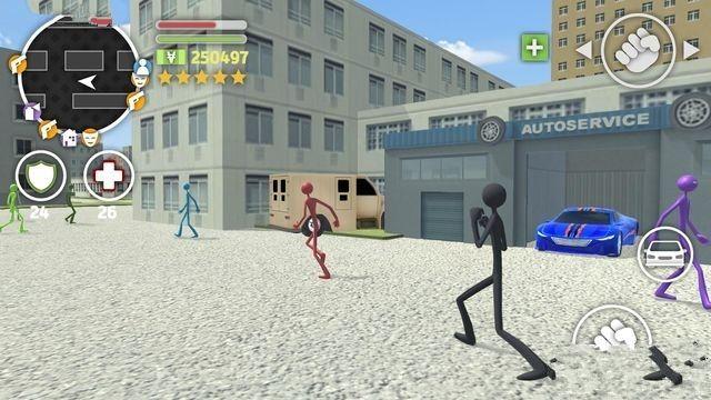 火柴人猎车手手机游戏最新版图2: