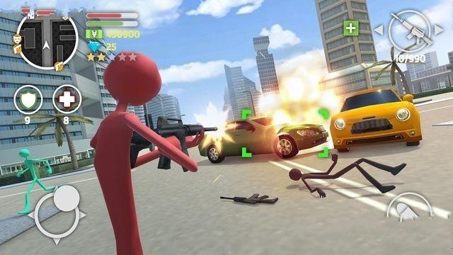 火柴人猎车手手机游戏最新版图1: