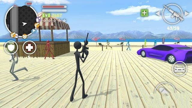 火柴人猎车手手机游戏最新版图3: