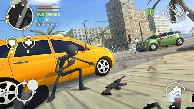 火柴人猎车手手机游戏最新版图4: