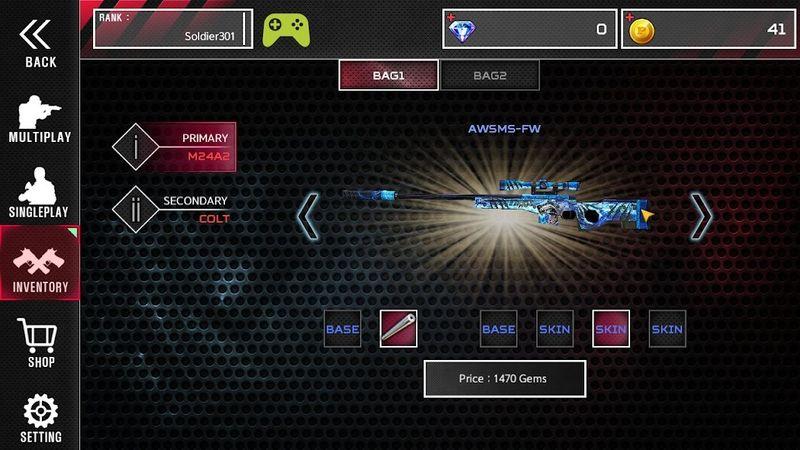 战斗士兵手机游戏最新版下载(Combat Soldier)图2: