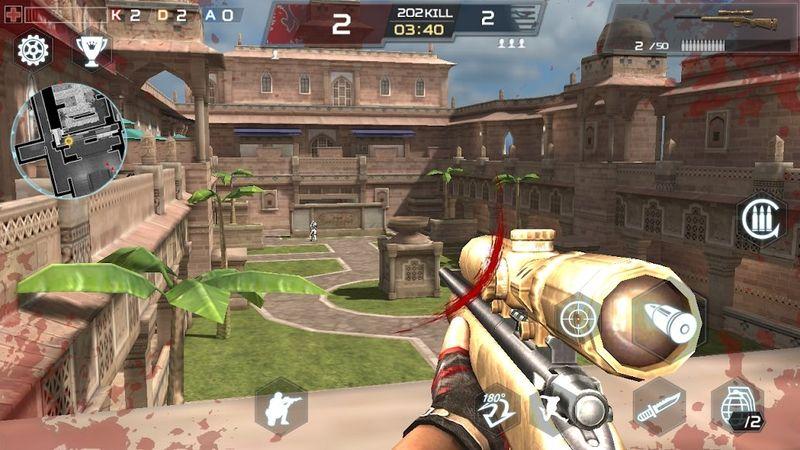 战斗士兵手机游戏最新版下载(Combat Soldier)图5: