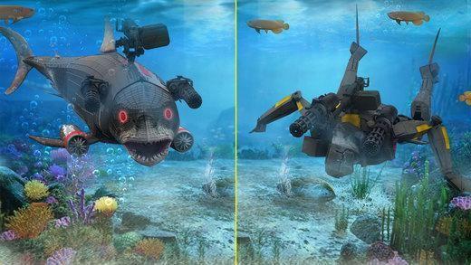 机器人海鲨安卓官方版游戏下载图3: