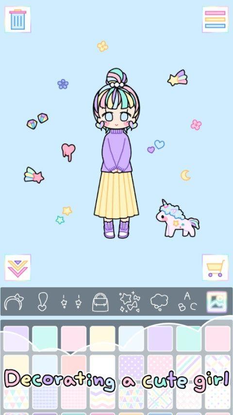 彩色的女孩游戏安卓无限道具最新版下载图3: