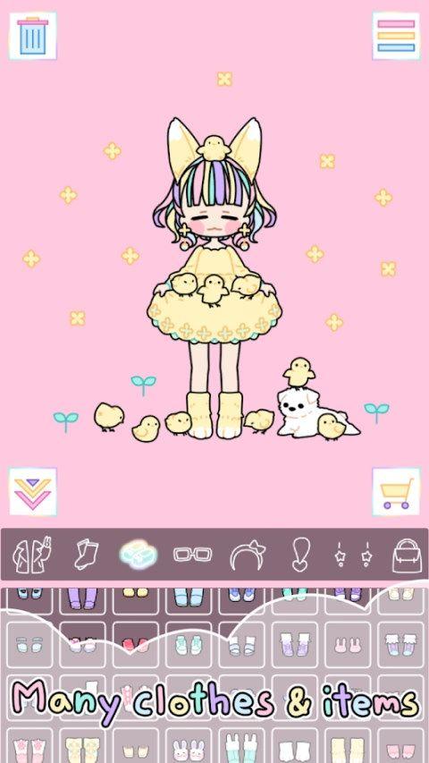 彩虹女孩Pastel Girl游戏安卓汉化版下载图2: