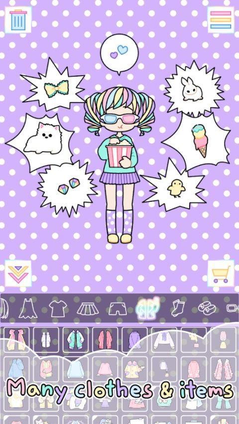 彩色的女孩游戏安卓无限道具最新版下载图4: