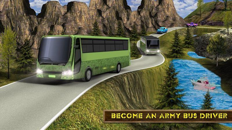 军队巴士模拟器2018手机游戏最新版下载图3: