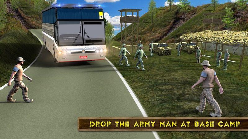 军队巴士模拟器2018手机游戏最新版下载图4:
