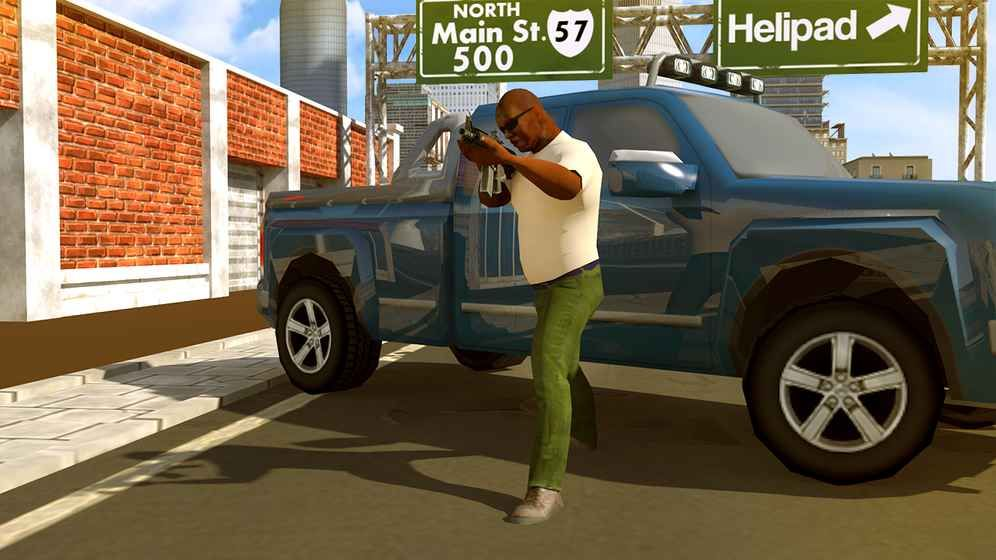 Auto Theft Gang Wars游戏中文汉化版下载图2: