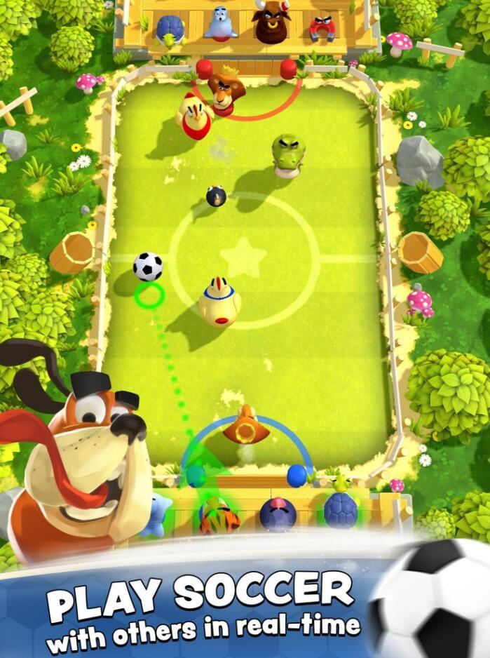 轰炸足球明星游戏安卓版下载地址图3: