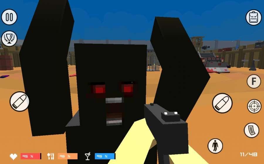 像素战盒僵尸革命安卓官方版游戏图1: