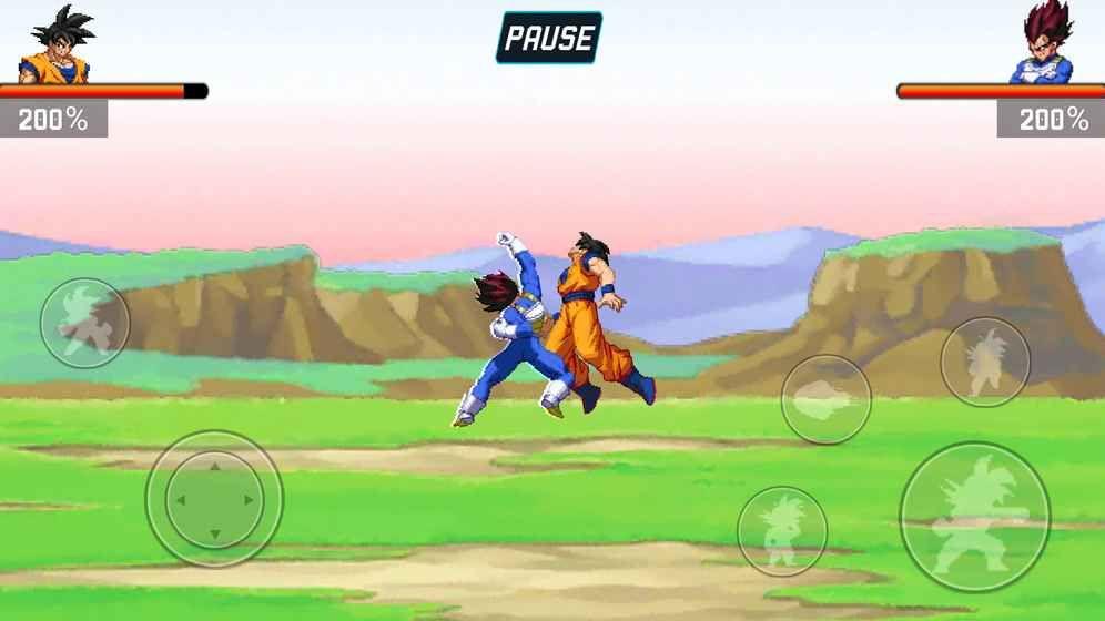 龙珠战士Z中文版最全人物安卓版下载图1: