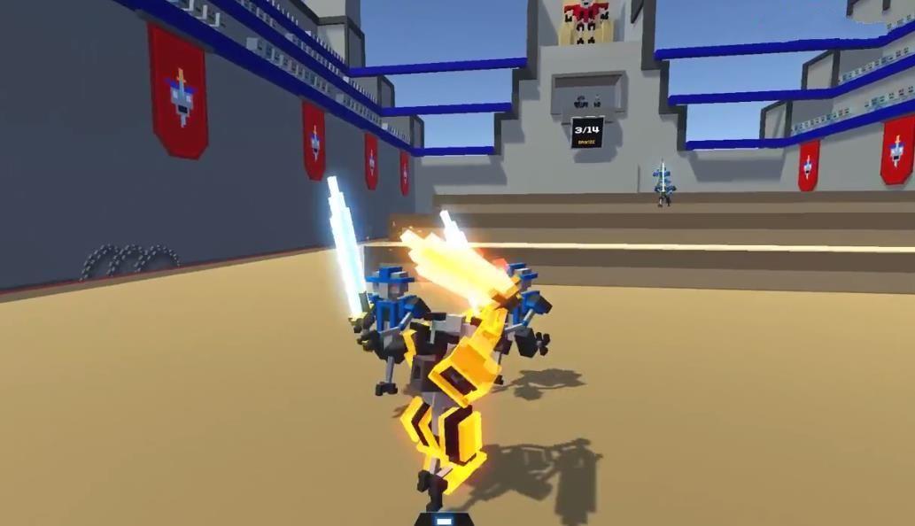 屌德斯解说机器人大乱斗中文版游戏免费下载图5: