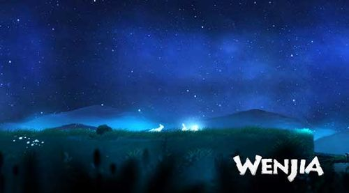 WENJIA游戏画面曝光 画风唯美的2D横版平台跳跃类游戏[多图]