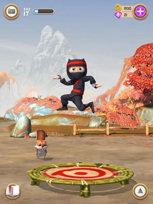 笨拙的忍者中文汉化版游戏下载(Clumsy Ninja)图5: