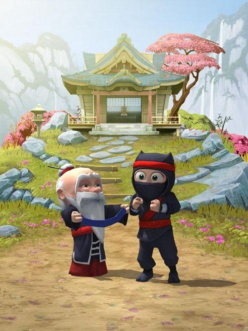 笨拙的忍者中文汉化版游戏下载(Clumsy Ninja)图3: