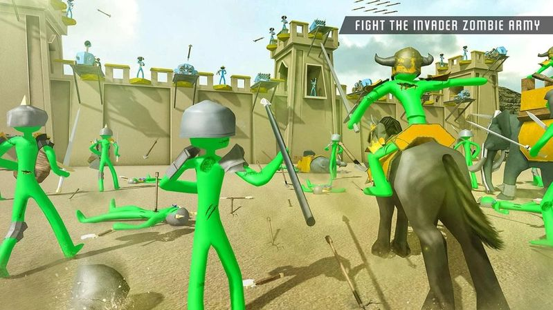 僵尸战斗模拟器最新1.01安卓版游戏下载图4: