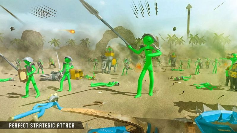 僵尸战斗模拟器最新1.01安卓版游戏下载图1: