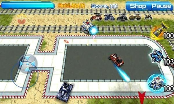 终极坦克3D手机游戏最新正版下载图3: