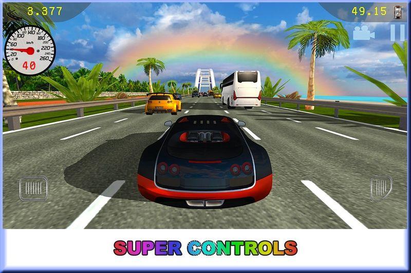 交通赛车豪华车安卓官网版游戏下载图3: