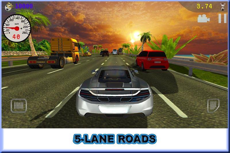 交通赛车豪华车安卓官网版游戏下载图2: