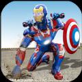 飞行救援英雄上尉机器人美国