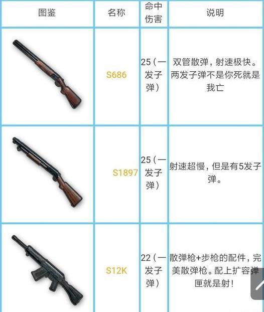 绝地求生刺激战场所有枪械伤害是多少?刺激战场枪械伤害数据大全[多图]图片5