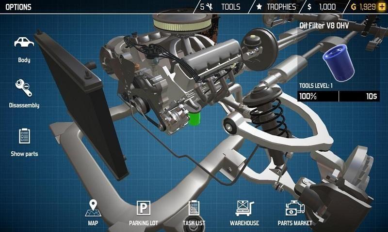 汽车修理工模拟2018手机游戏最新版图4: