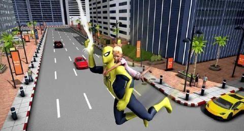 飞行蜘蛛侠2018无限金币最新修改版下载图4: