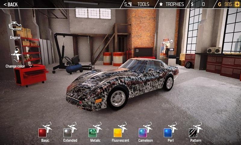 汽车修理工模拟2018手机游戏最新版图1: