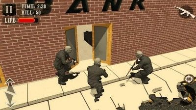 狙击银行劫犯安卓官方版游戏下载图3: