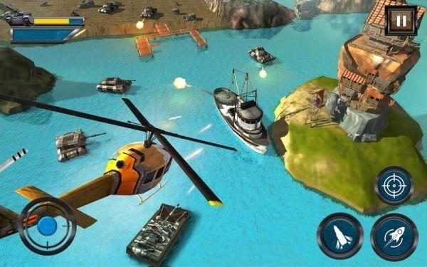 陆军坦克水上战争安卓官方版游戏下载图4: