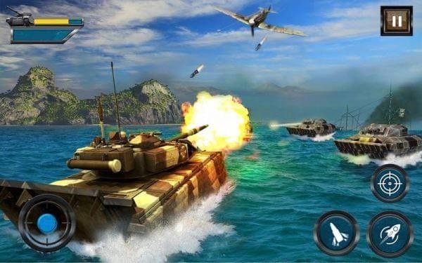 陆军坦克水上战争安卓官方版游戏下载图3: