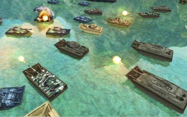 陆军坦克水上战争安卓官方版游戏下载图1: