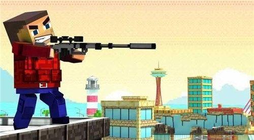 方块狙击手3D手机游戏最新安卓版官方下载地址图4: