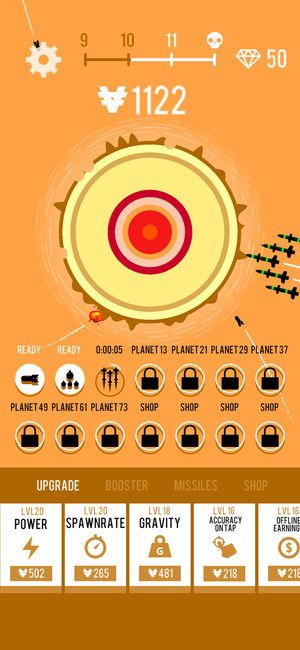 星球轰炸机官方安卓版游戏下载图1: