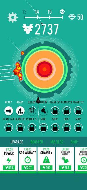 星球轰炸机官方安卓版游戏下载图2: