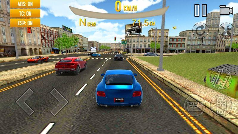 极端驾驶模拟器2018安卓官方版游戏图3: