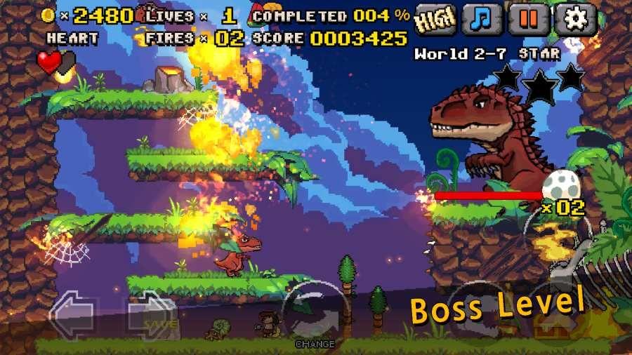 恐龙大陆冒险安卓官方版游戏(DinoLand Adventure)图1: