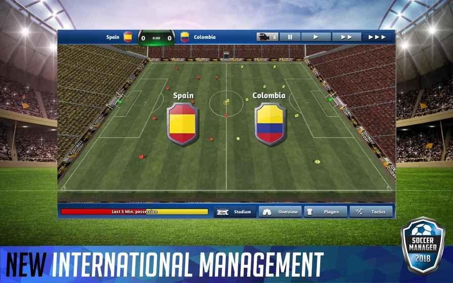 Soccer Manager 2018中文汉化最新版游戏下载图3: