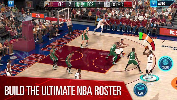 NBA 2K Mobile Basketball手游官方版下安卓版apk数据包图3:
