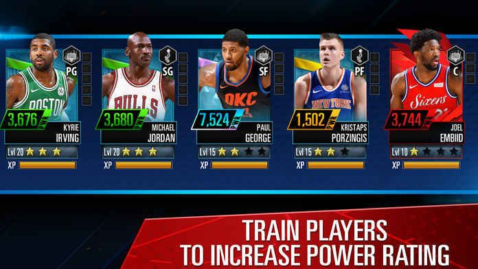 NBA 2K Mobile Basketball手游官方版下安卓版apk数据包图4: