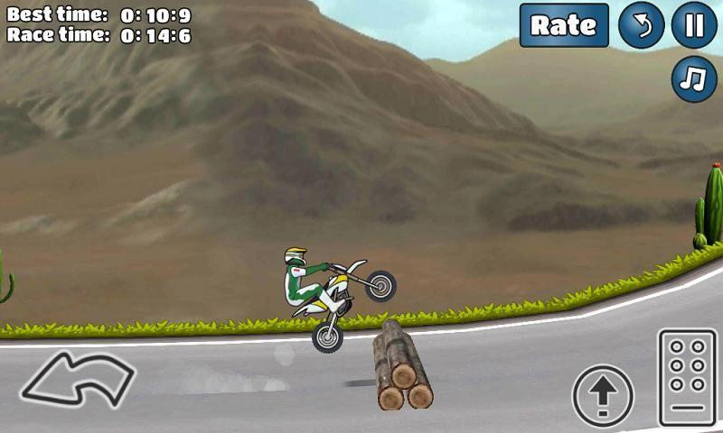 特技摩托挑战手机游戏最新安卓官方版下载地址(Wheelie Challenge)图6: