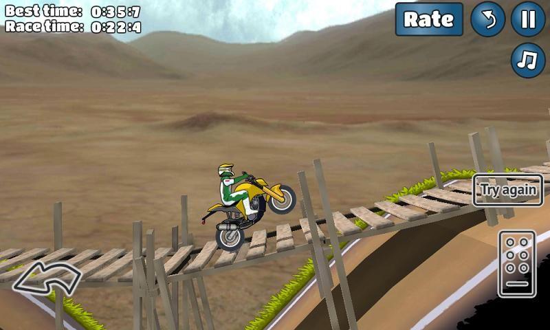 特技摩托挑战手机游戏最新安卓官方版下载地址(Wheelie Challenge)图4: