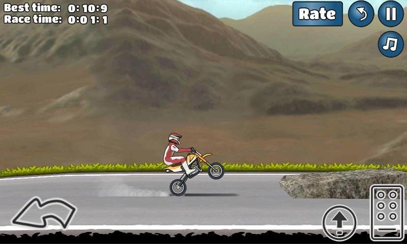 特技摩托挑战手机游戏最新安卓官方版下载地址(Wheelie Challenge)图2: