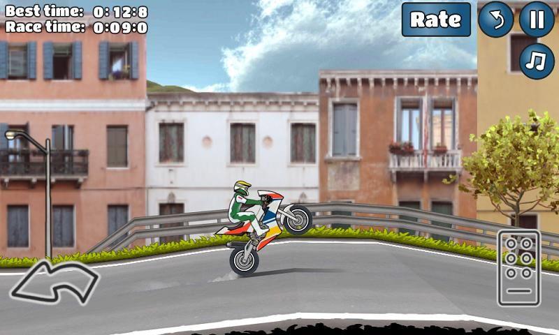 特技摩托挑战手机游戏最新安卓官方版下载地址(Wheelie Challenge)图5: