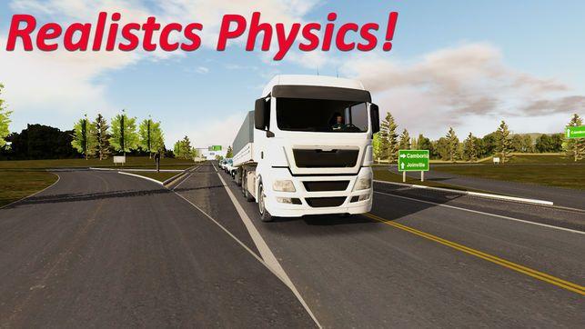 重型卡车模拟器无限金钱所有车解锁版修改游戏下载图片3