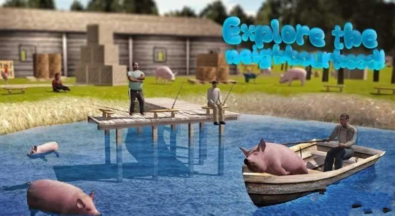 小猪模拟器2中文游戏手机版(the pig simulator2)图2: